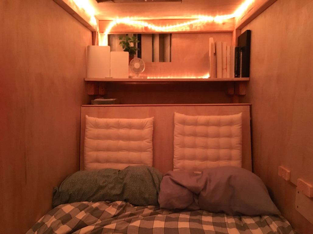 The pod. Image via peteberk.com.