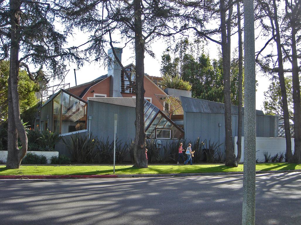 Frank Gehry's house, image via Wikipedia.