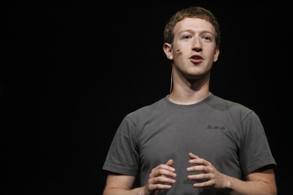 Facebook CEO Mark Zuckerberg. (credit: KIMIHIRO HOSHINO/AFP/Getty Images)
