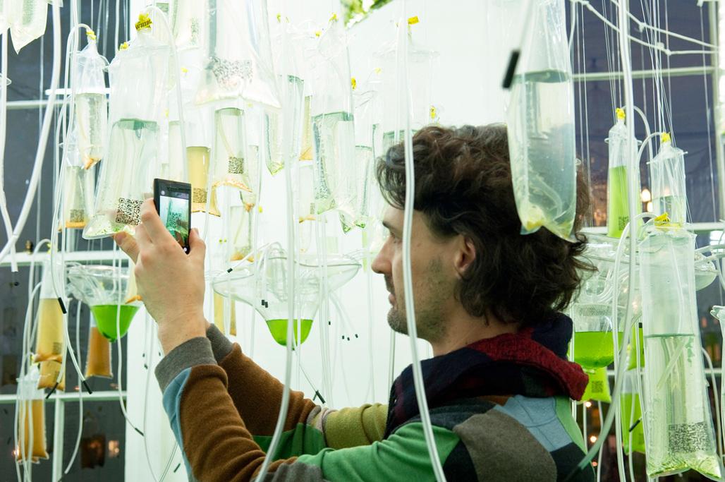 Photo 1: Cyber-Gardering the City (ecoLogicStudio) © Sue Barr