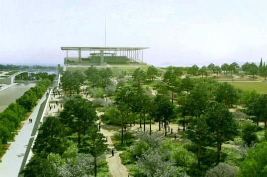 Stavros Niarchos Foundation Cultural Center by Renzo Piano