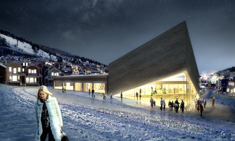 The Bjarke Ingels Group substantially revised its initial design for the Kimball Art Center Expansion project but it, too, has been deemed out of character for the historic district. (Park Record; Rendering by Bjarke Ingels Group)