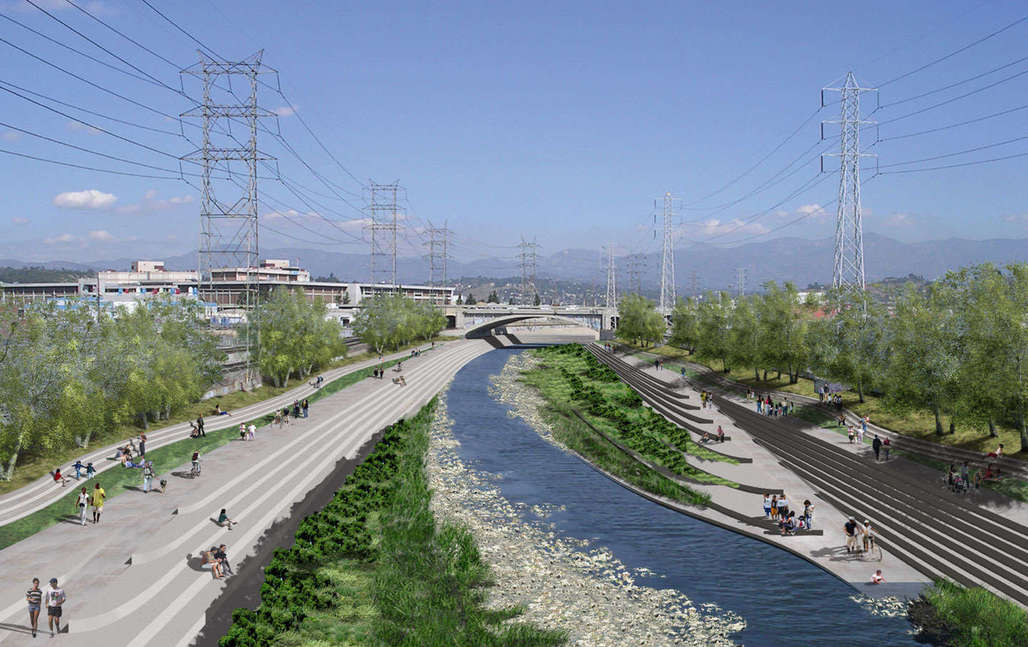 L.A.'s doing it, and other cities around the world are also re-embracing their forgotten waterways. (Pictured: Los Angeles River Revitalization Master Plan)