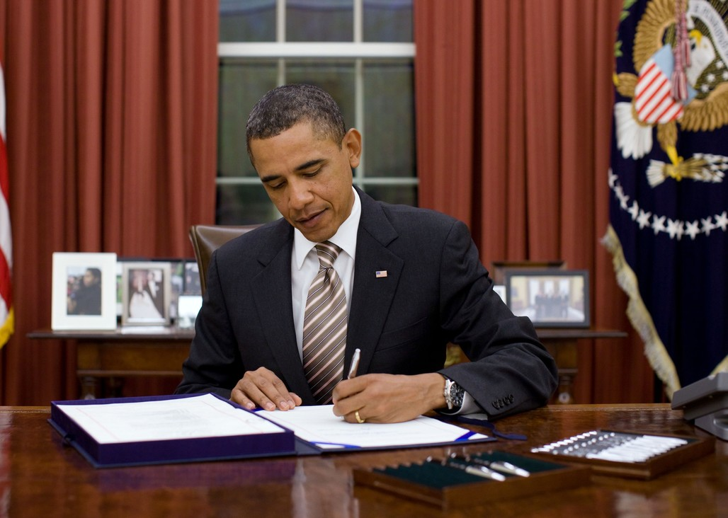 """""""I'm loath to reduce his work to just a grade. But if I had to, I would probably say a B-,"""" says James DeFillippis, associate professor, Edward J. Bloustein School of Planning and Public Policy at Rutgers University, about President Obama's urban policy. (Image via wikimedia.org)"""