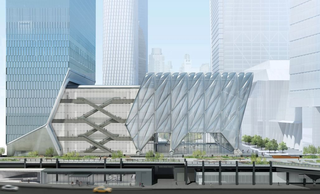 The Shed deployed Image courtesy of Diller Scofidio + Renfro