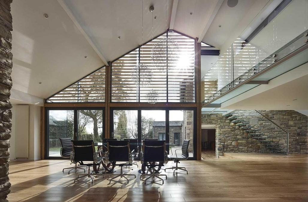 """<a href=""""http://archinect.com/andrewwallacearchitects/project/house-141"""">House 141</a> by <a href=""""http://archinect.com/andrewwallacearchitects"""">Andrew Wallace Architects + Interior Designers</a> mixes old and new"""