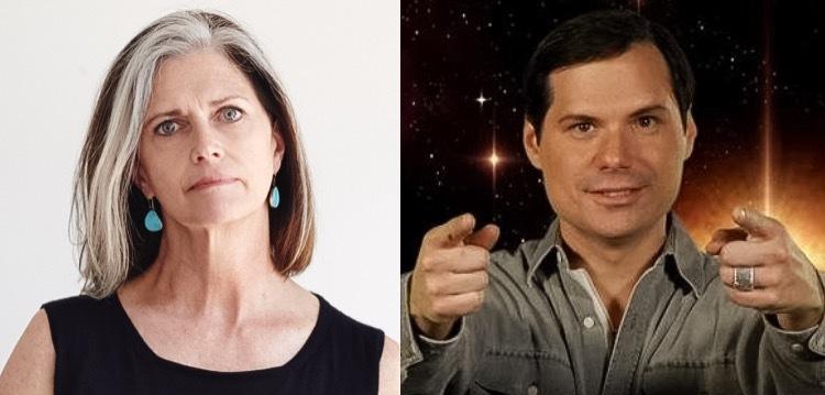 The Odd (but delightful) Couple: Deborah Berke and Michael Ian Black. Images: Deborah Berke / Twitter