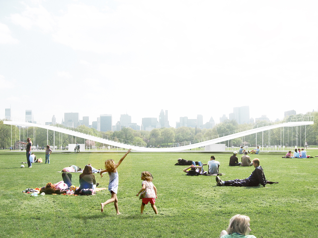 plaYform main view from 'great lawn'