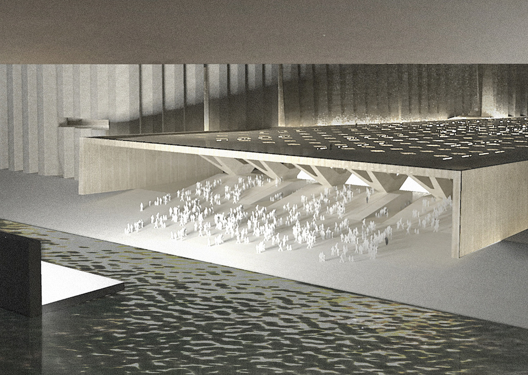 Elemental's Art Mill Concept Design. Image © Qatar Museums and Malcolm Reading Consultants.