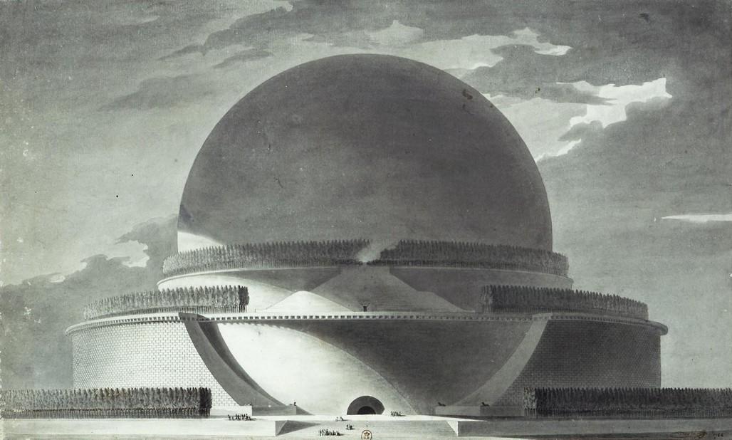 Boullée Cenotaph for Sir Isaac Newton