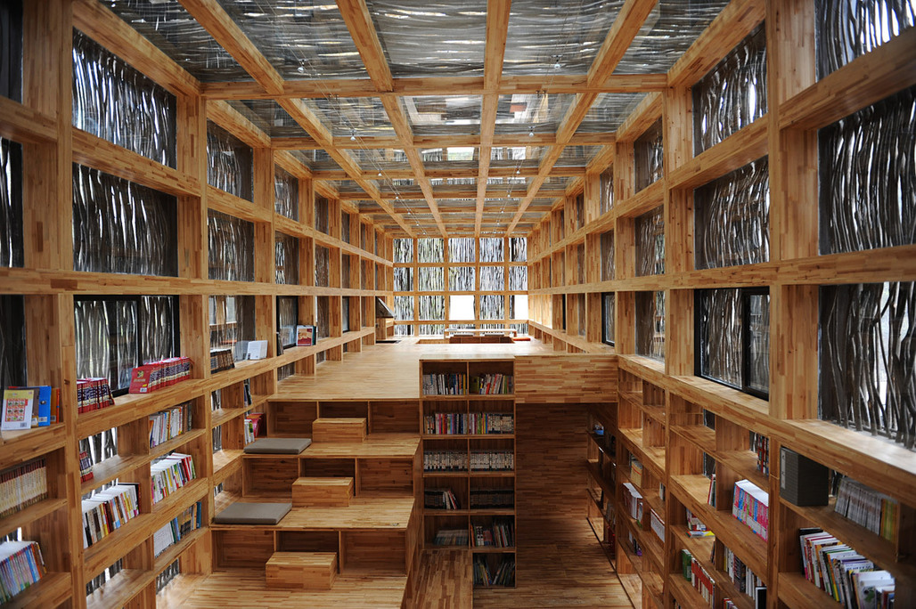 Since the Liyuan Library has become more than just a local attraction, it's rare to find it this empty anymore.