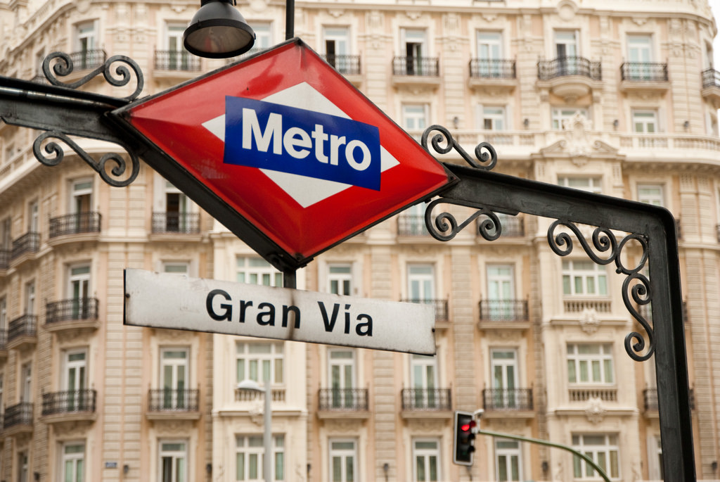Madrid's Gran Via, now personal car-free. Image: Surreal Name Given via flickr