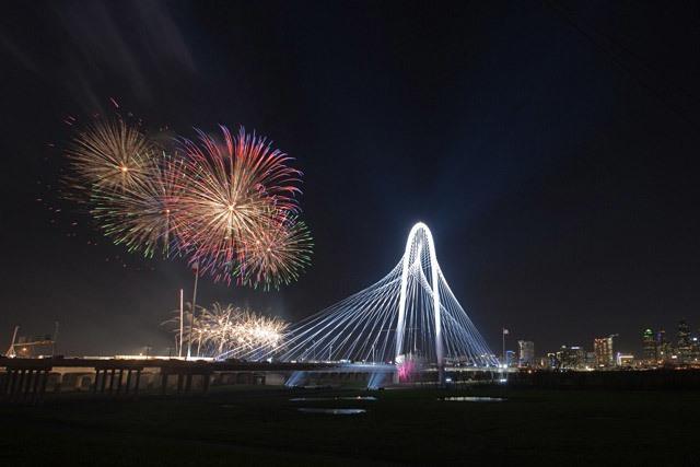 The new Calatrava-designed Margaret Hunt Hill Bridge in Dallas, TX (Photo: Daniel Driensky)