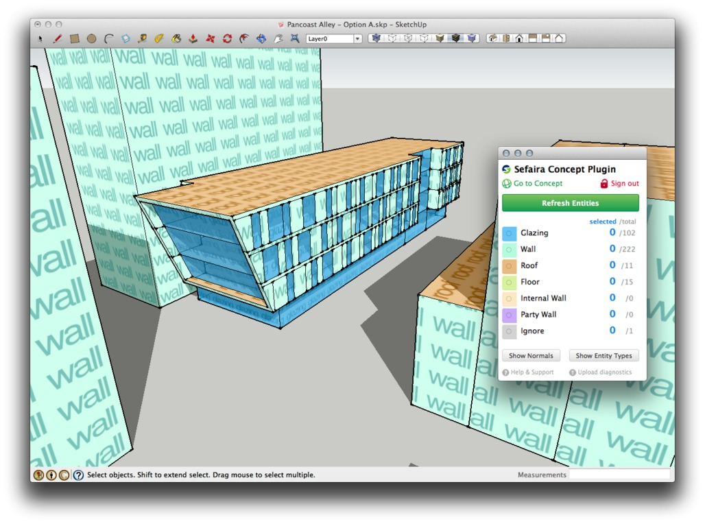 Sefaira Concept Plugin for SketchUp