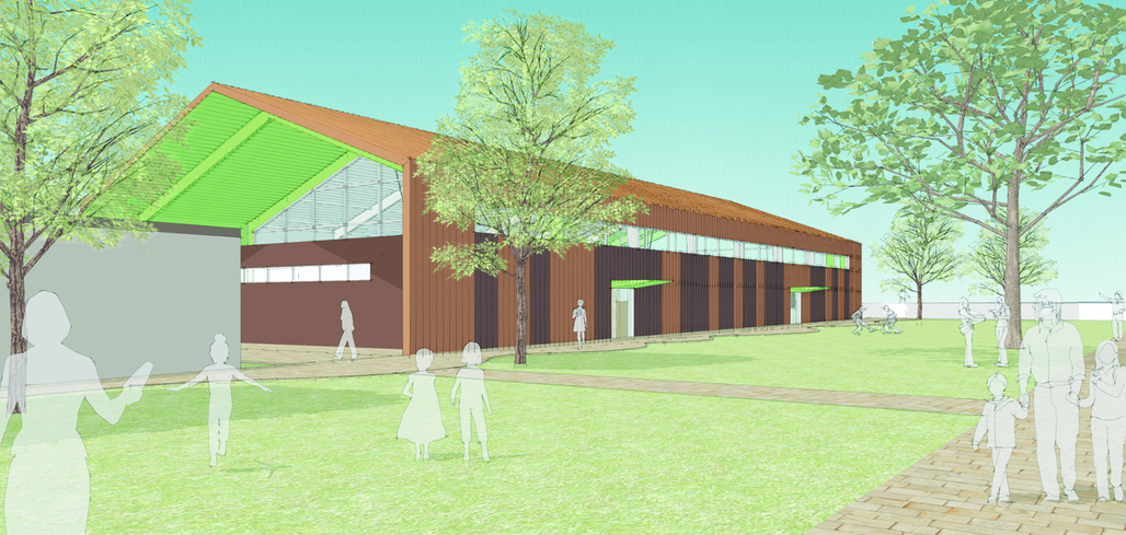 Parallax Architecture Designs New Gym for Sierra Canyon Lower School