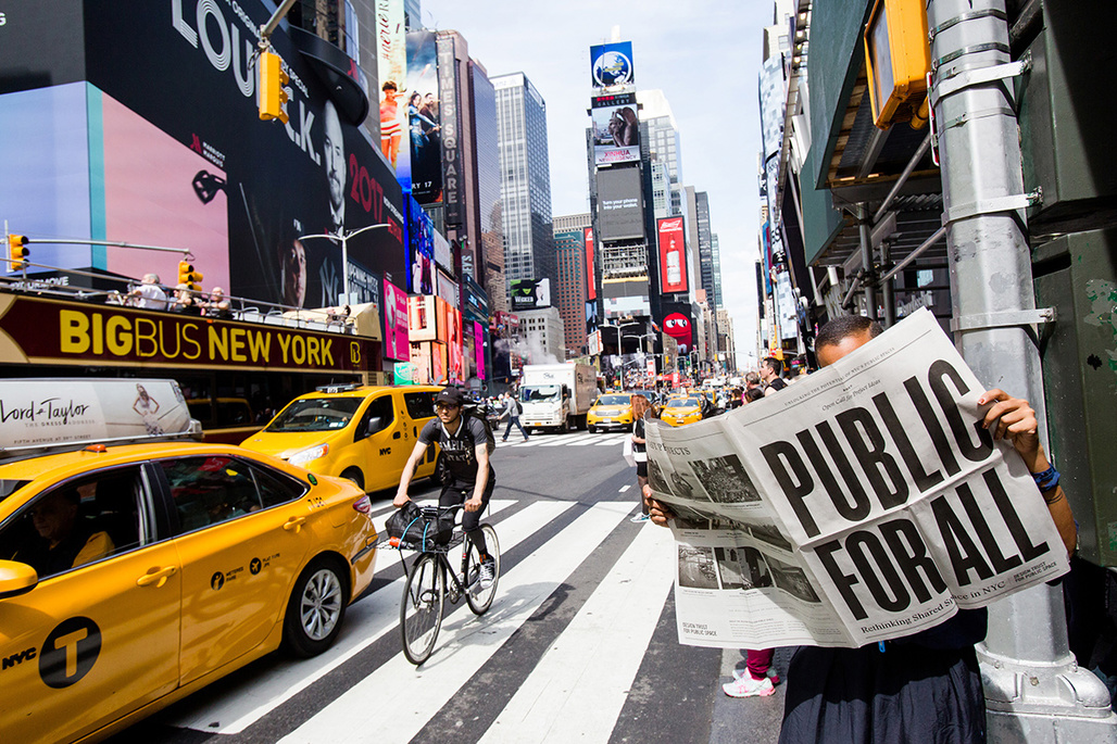 Times Square. Photo: Liz Ligon. Courtesy of the Design Trust for Public Space.
