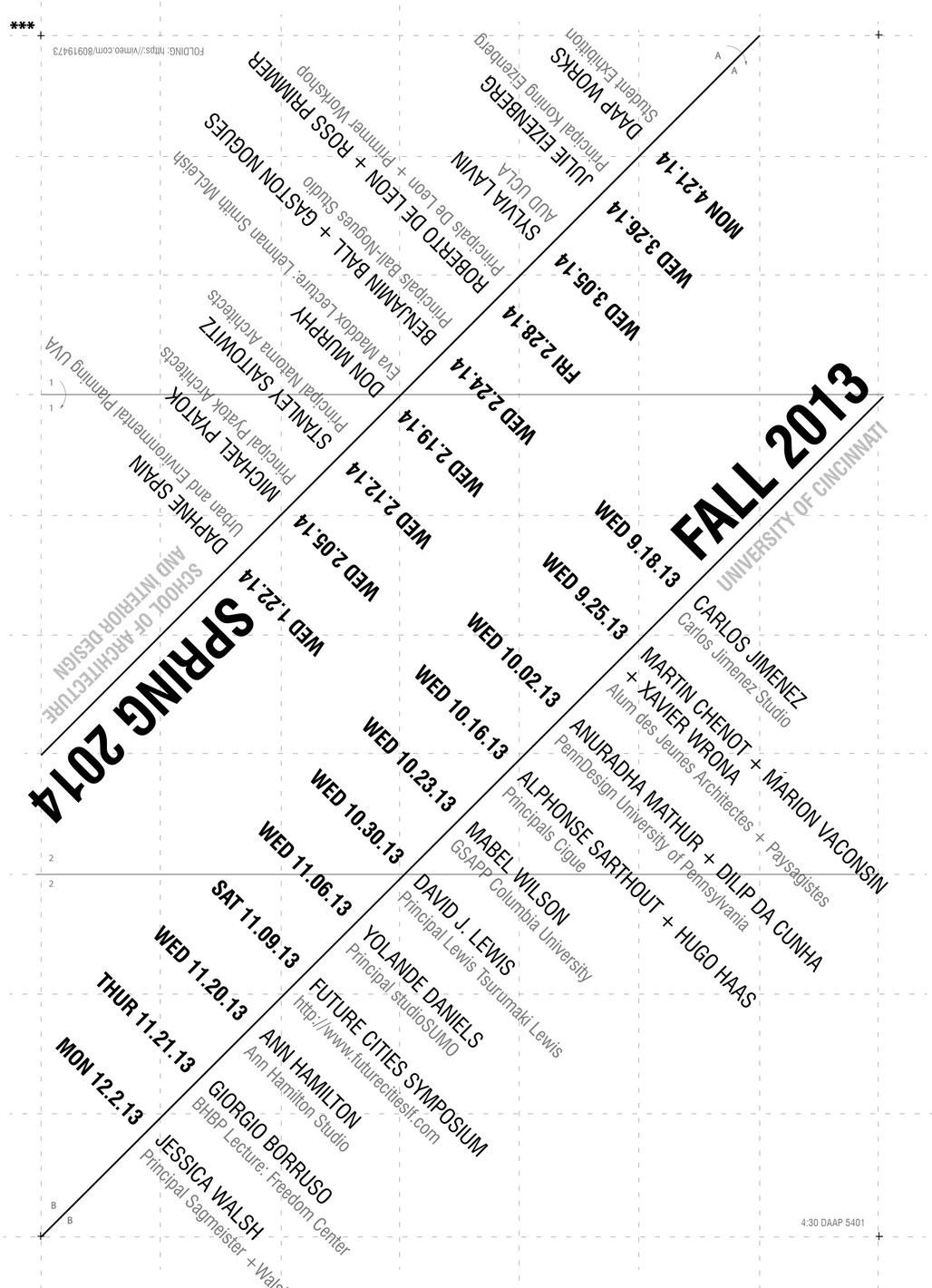 University of Cincinnati SAID Lecture Series. Image courtesy of U. Cincinnati SAID.