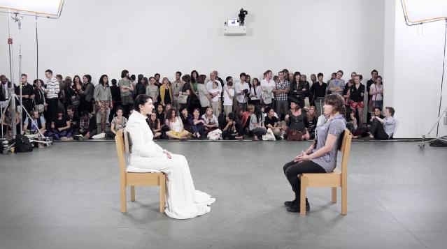 "Marina Abramovic, ""The Artist Is Present"" (2010), MoMA"