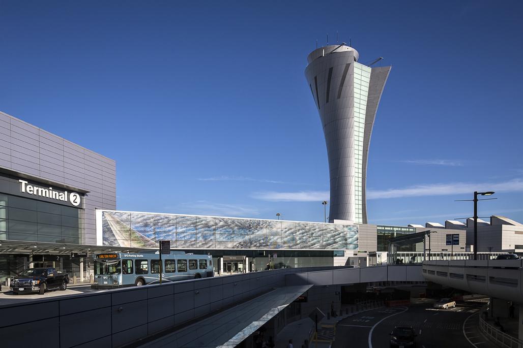 San Francisco International Airport's (SFO) Traffic Control Tower ©John Swain Photography