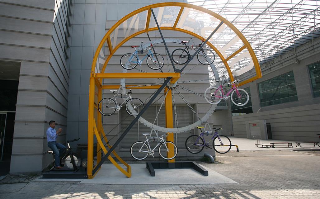 Manifesto Architecture, Bike Hanger (Courtesy of I:M)