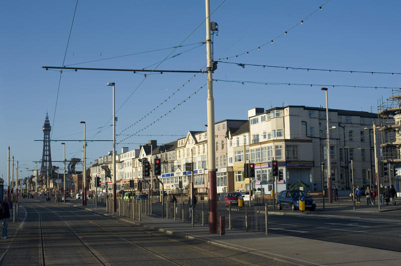 Many coastal towns including Blackpool (pictured), which are now suffering extreme poverty and their own housing crisis, voted to leave the EU. Image by photoeverywhere, via freeimageslive.co.uk.