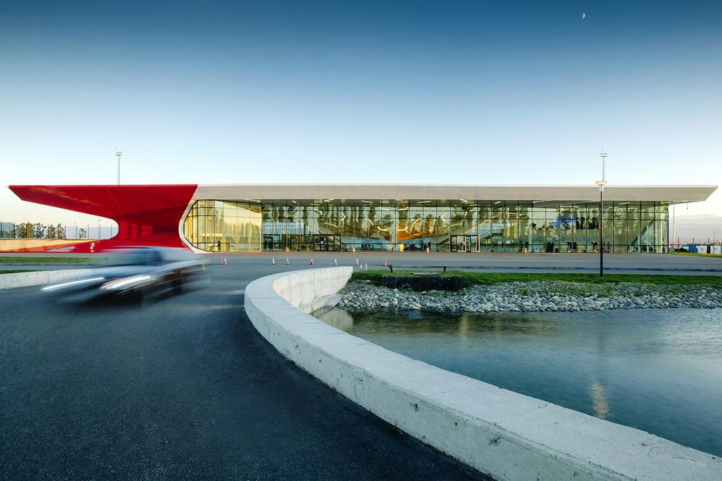 Kutaisi International Airport by UNStudio. Photo © Nakanimamasakhlisi
