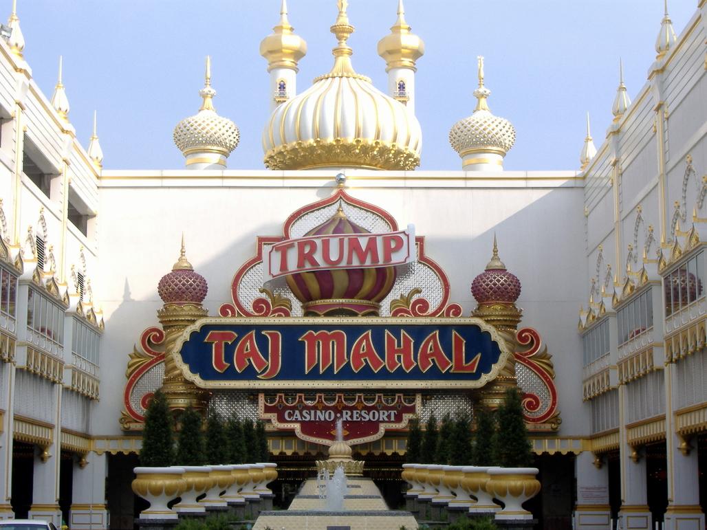 Trump's Taj Mahal in Atlantic City. Photo: Wikipedia.