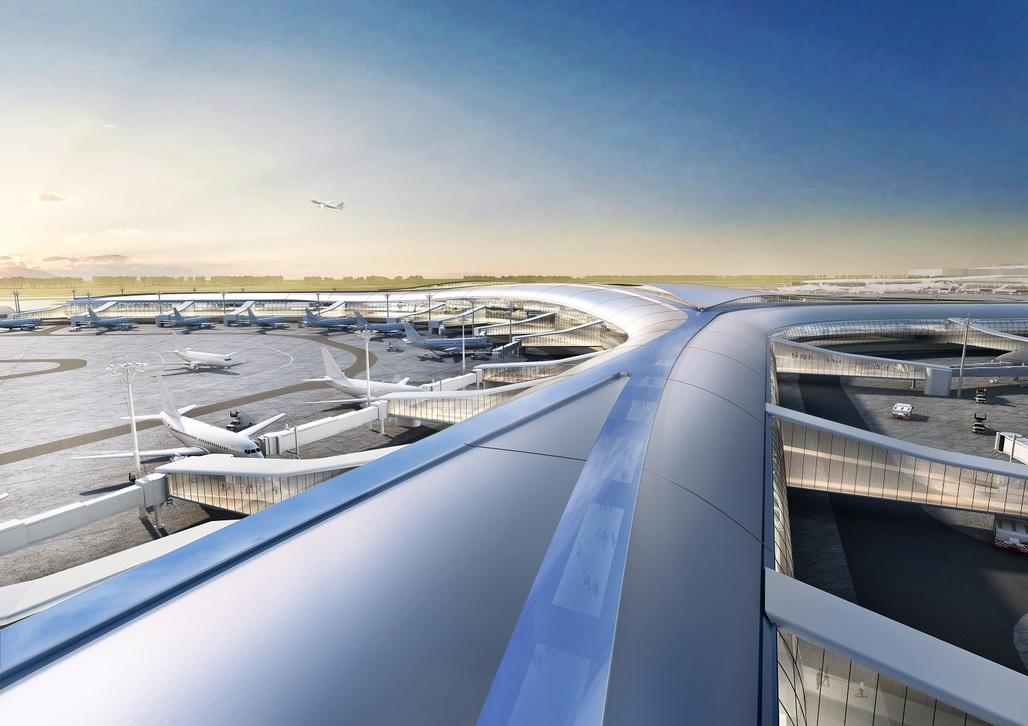 Shenzhen Airport Satellite Concourse, China, by Aedas