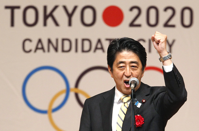 Japanese Prime Minister Shinzo Abe made Tokyo's final pitch for the games at the IOC meeting [Reuters]