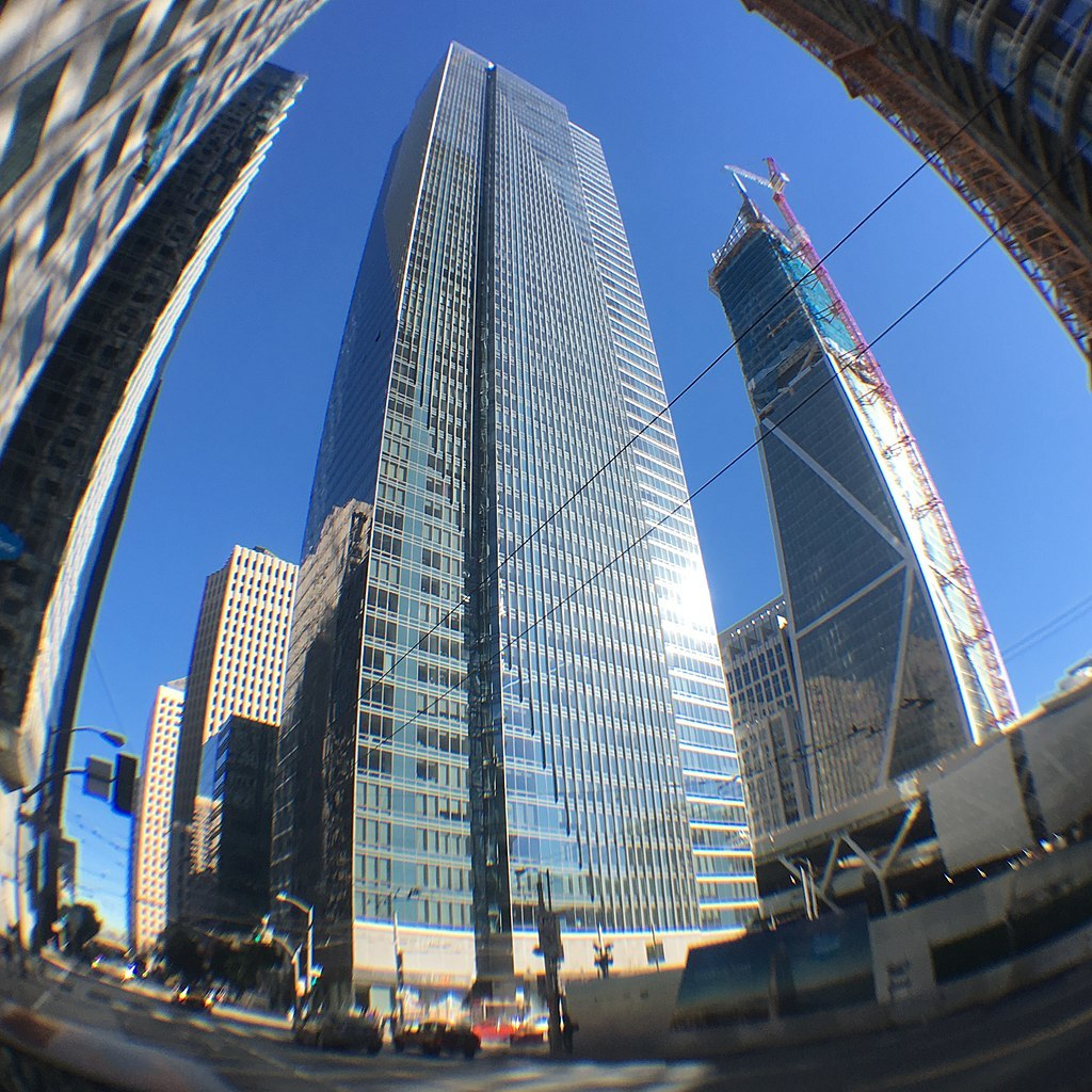 Quo vadis Millennium Tower? Engineers say they may be able to rescue the structure. Photo: Victor Grigas; Image via Wikipedia.