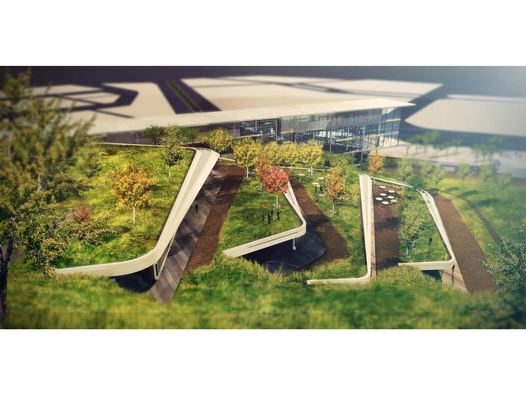 HOLCIM AWARDS GOLD 2014 - Eco-Techno Park: Green building showcase and enterprise hub, Ankara, Turkey. AUTHOR: Onat Öktem and Zeynep Öktem, ONZ Architects, Ankara, Turkey