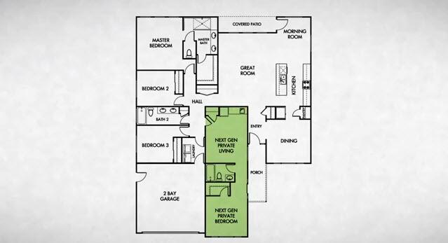 Lennar's NextGen-Home Within A Home via LennarFresno