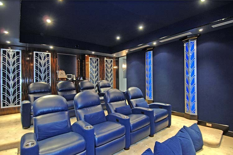 Entertainment room, movie theater