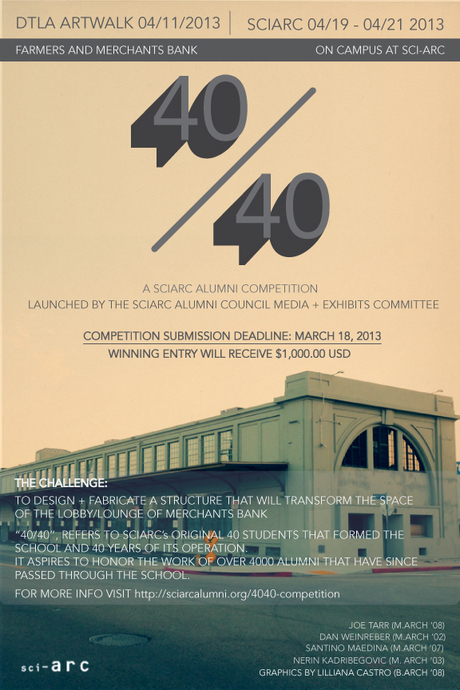 40_40 SCI-Arc Alumni Competition via Matthew Cavender