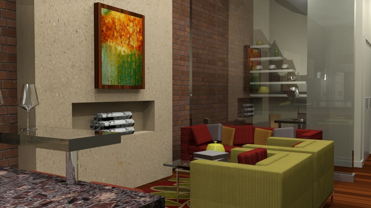 Woodlands at the Witherill Eco--village (Living Area)