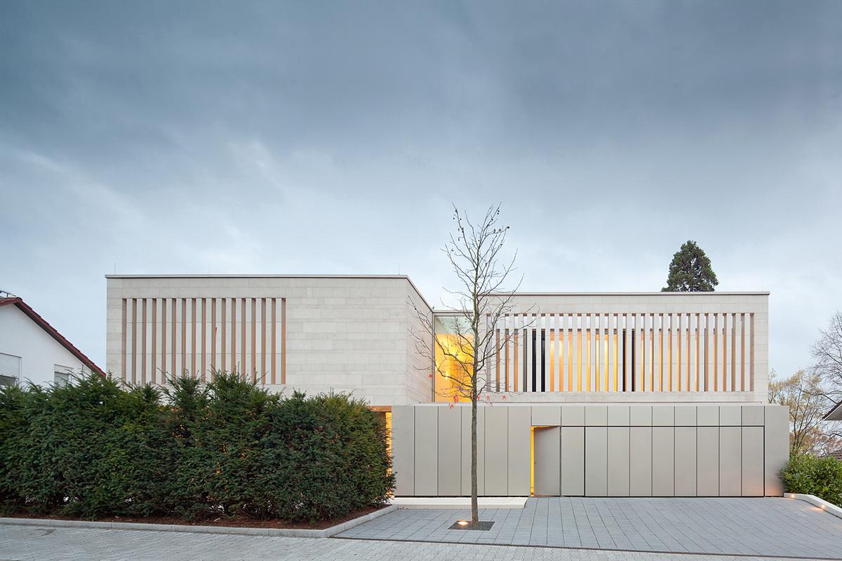 Residence in Weinheim, Germany, 2013. Photo: Jose Campos
