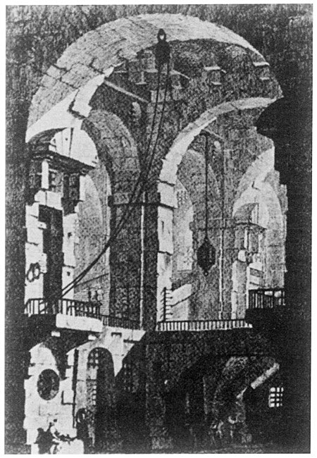 Piranesi's Carceri etching