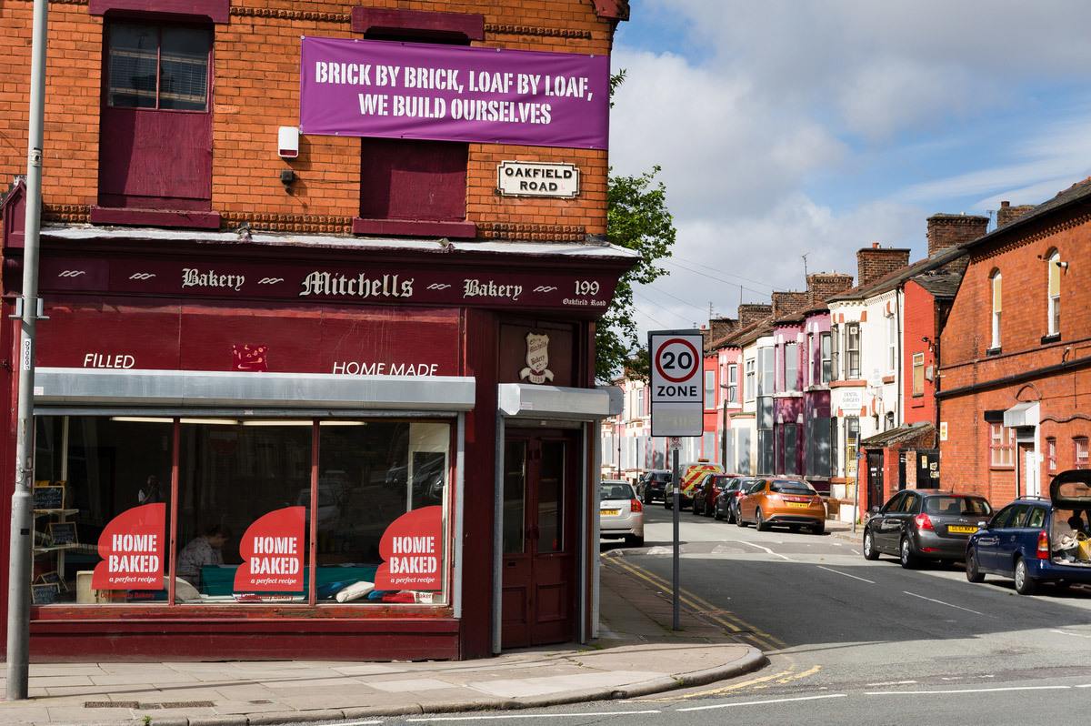 Jeanne van Heeswijk: 2Up2Down's headquarters, where a new bakery will be run by the Home Baked cooperative (Photo: Liverpool Biennial)