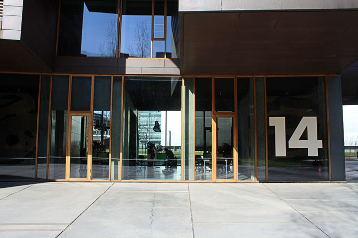 Entrance of Tietgenkollegiet by Lundgaard & Tranberg
