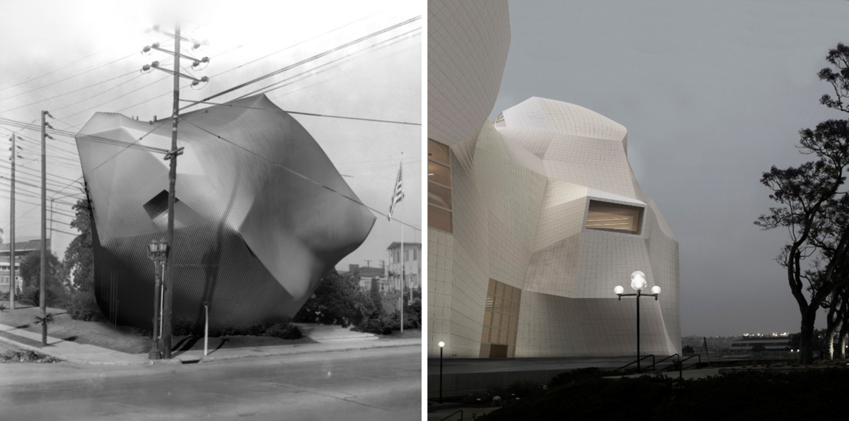 Project by Tessa Watson (on the left), Project by Devin Koba (on the right) for Jason's Payne's Studio Water and Power