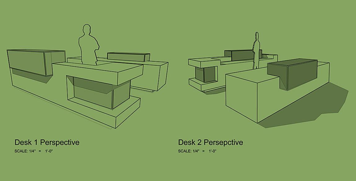 Reception Desk Perspectives