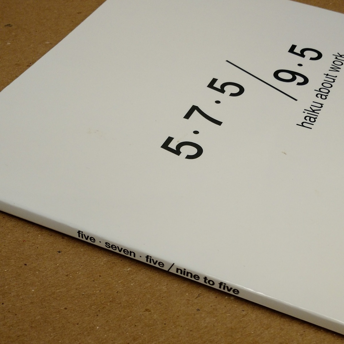 'Five Seven Five: Nine to Five,' courtesy of the authors.