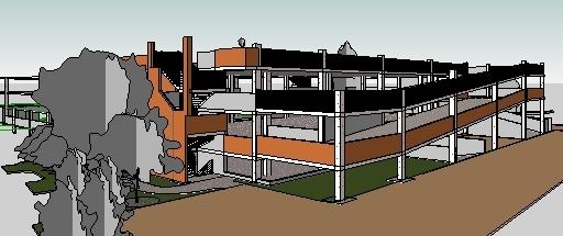 Via Verde new parking structure.