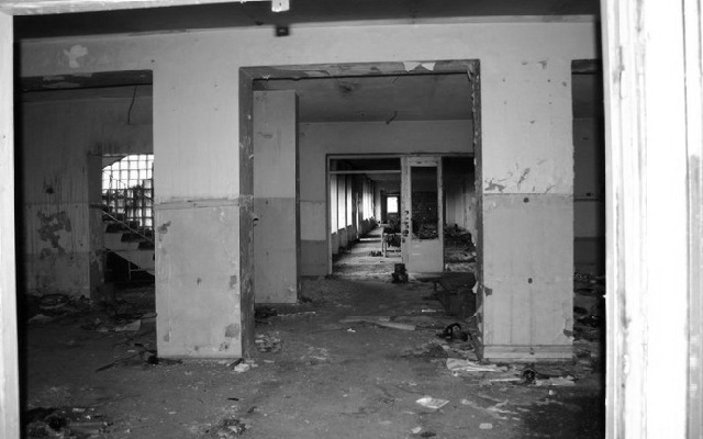 Before - Disused gym in Cremona city - Lombardia, Italy.