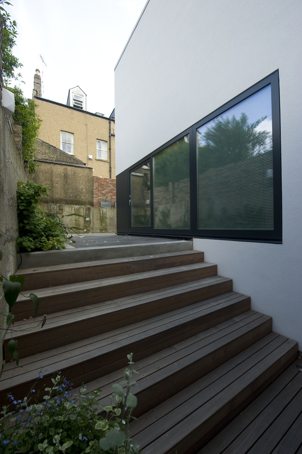 The garden stair at Zog House