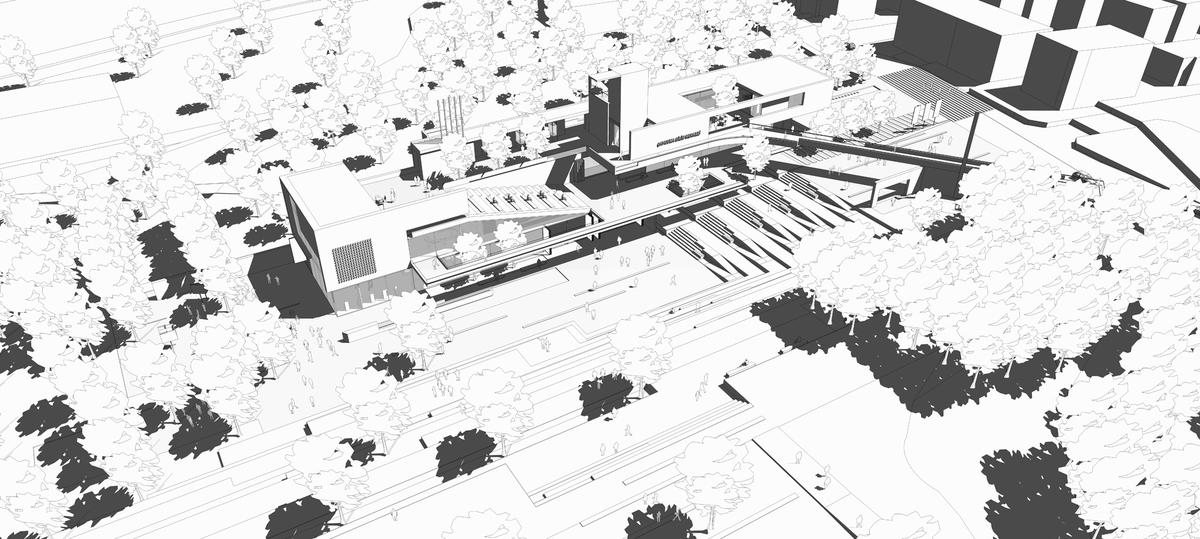 004 – AXONOMETRIC VIEW - Image Courtesy of ONZ Architects