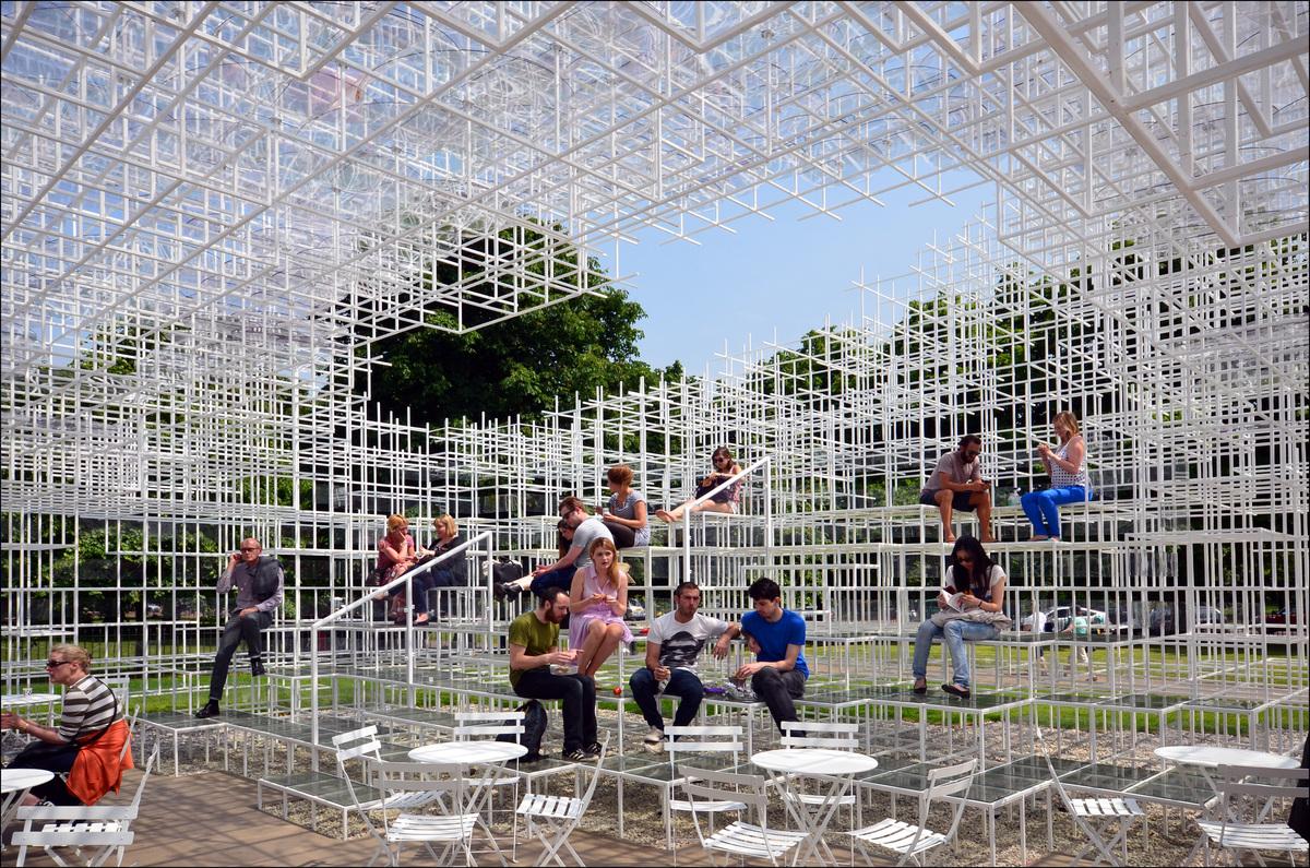 "Sou Fujimoto's Serpentine Pavilion (photo credit: ""Serpentine Gallery Pavilion 2013"