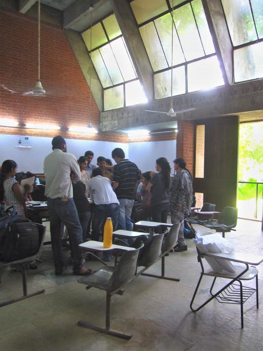 CEPT Architecture and Planning Building (colloqium in progress) via amlocke