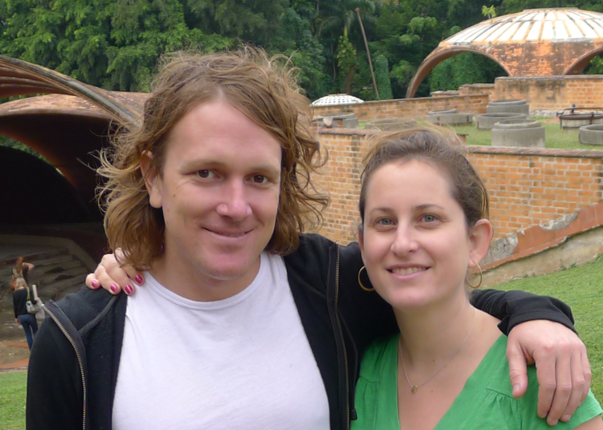 Filmmakers Benjamin Murray and Alysa Nahmias