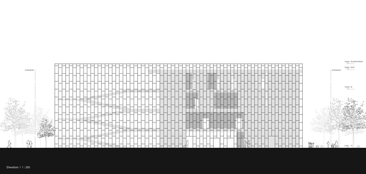 Elevation (Image: studio SH)